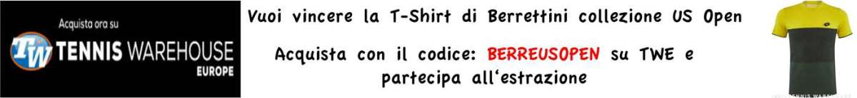 Aggiudicati il completo di Matteo Berrettini Berrettini