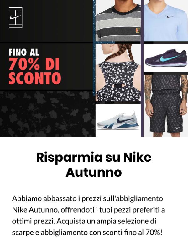 Nike: grandi sconti e Vapor Cage 4 in offerta 210921-1